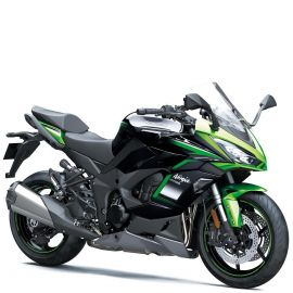 Мотоцикл KAWASAKI NINJA 1000SX - Emerald Blazed Green/Metallic Diablo Black/Metallic Graphite Gray '2021