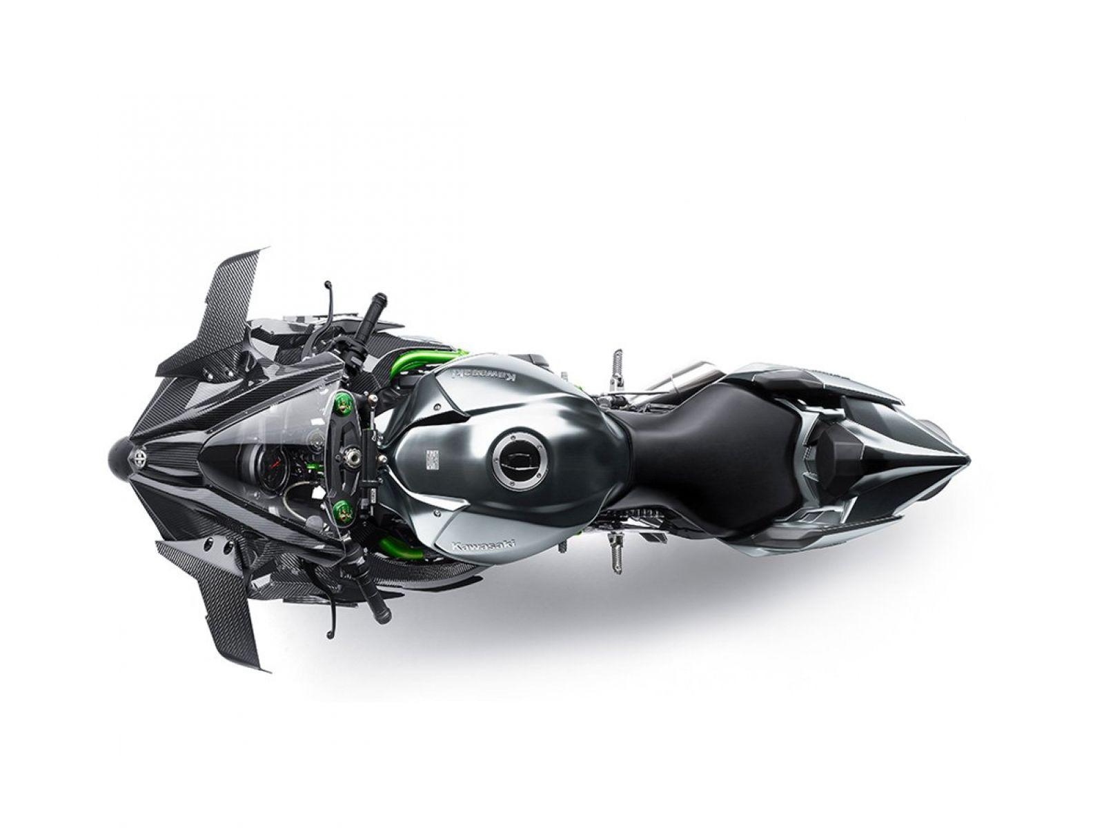 Мотоцикл KAWASAKI Ninja H2R Серый (2018)