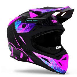 Шлем для снегохода 509 ALTITUDE CARBON FIDLOCK Galaxy