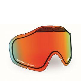 Линза 509 SINISTER X5 Mirror/Photochromatic orange