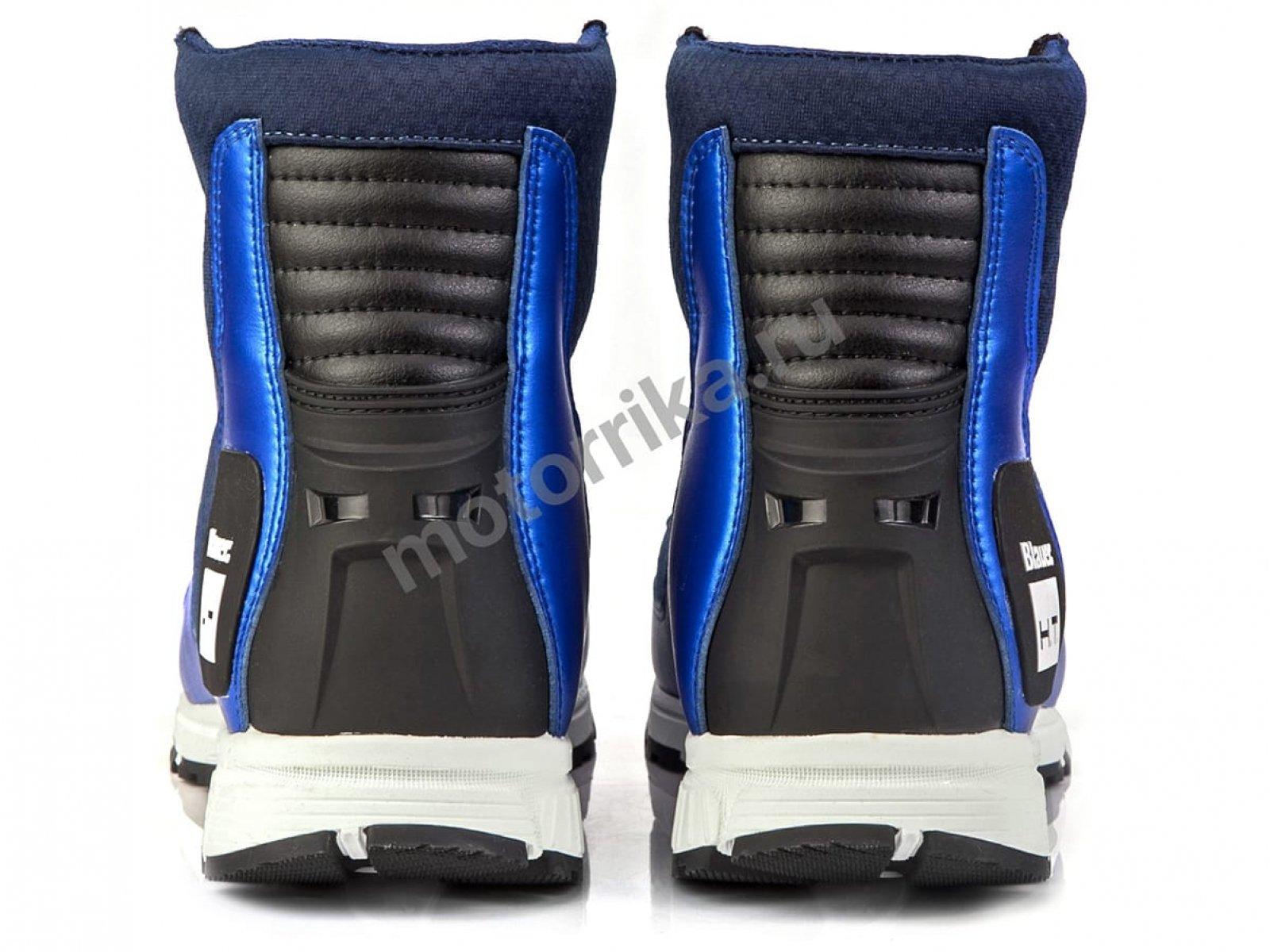 Мотокроссовки Blauer H.T. SNEAKER HT01 Синие