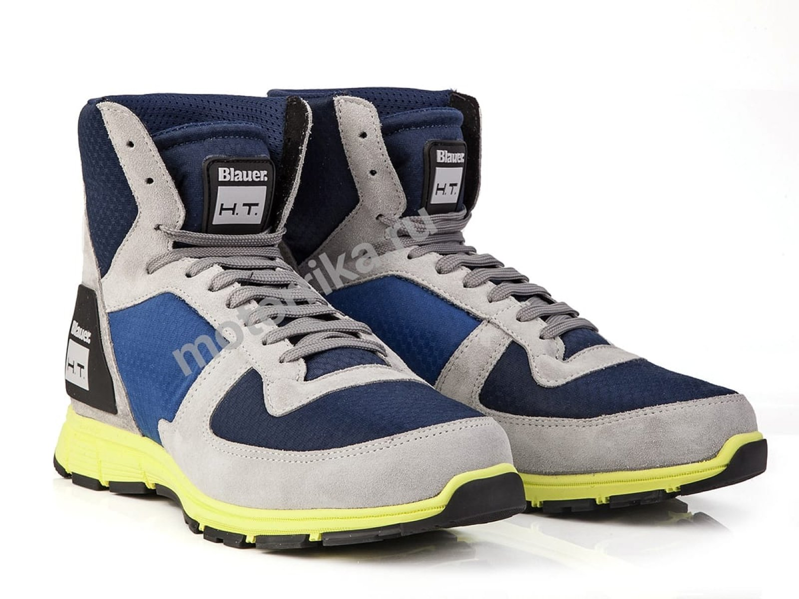 Мотокроссовки Blauer H.T. Sneaker HT01 Blue-Yellow