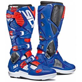 Мотоботы Sidi Crossfire 3 SRS White/Blue/Red Fluo