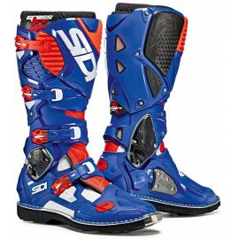 Мотоботы Sidi Crossfire 3 White/Blue/Red Fluo