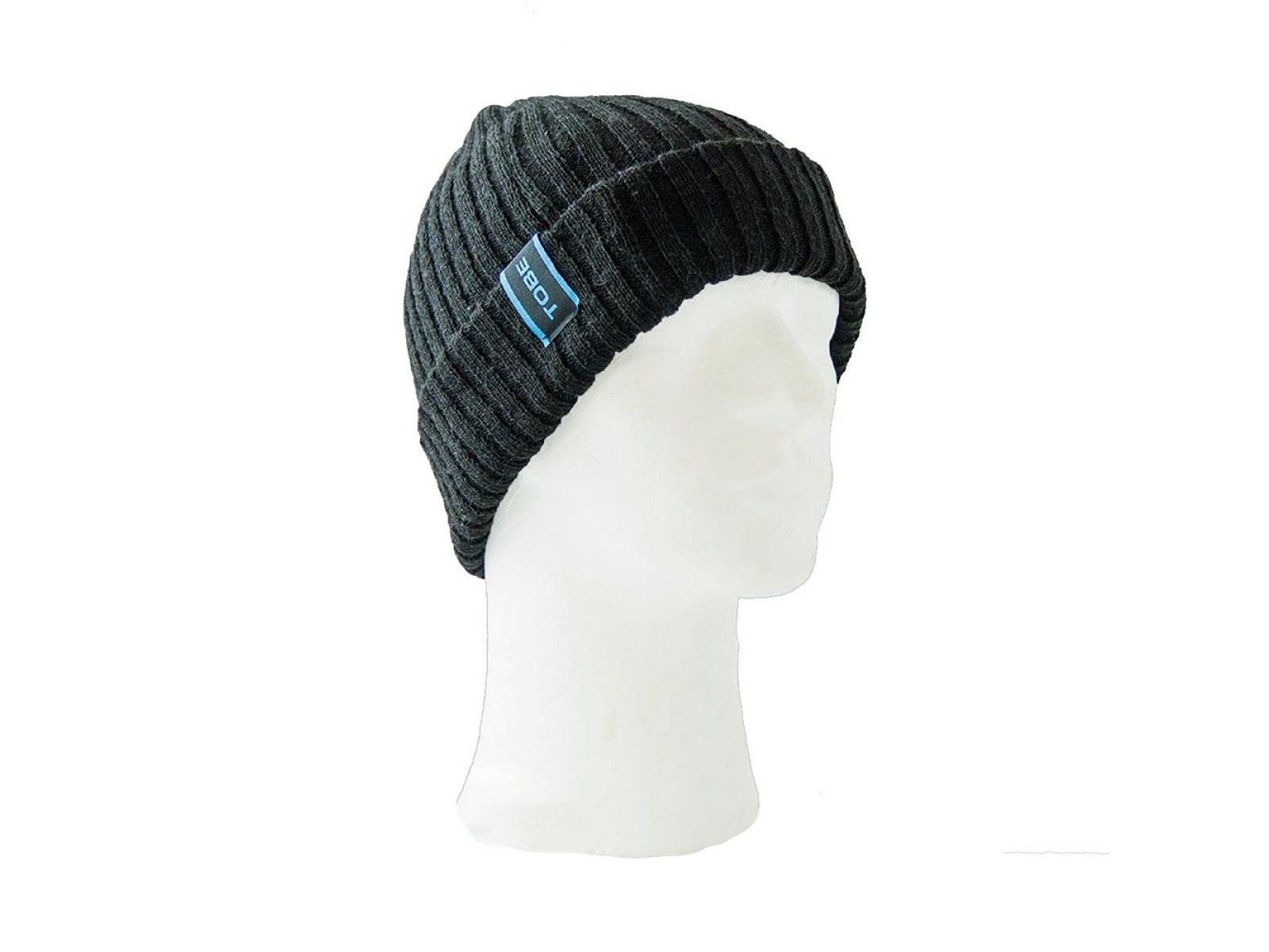 Шапка Tobe CAPT Black OS