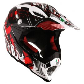 Мотошлем AGV AX-8 Evo Multi Nofoot Red