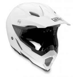 Мотошлем AGV AX-8 Evo Solid White