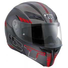 Мотошлем AGV Compact ST Multi Seattle Black Red