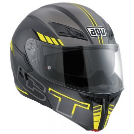 Мотошлем AGV Compact ST Multi Seattle Black Yellow
