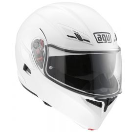 Мотошлем AGV Compact ST Solid White