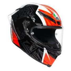 Мотошлем AGV Corsa R Multi Casanova Black Red Green