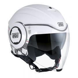 Мотошлем AGV Fluid Garda Italy White