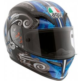 Мотошлем AGV Grid Stigma Blue