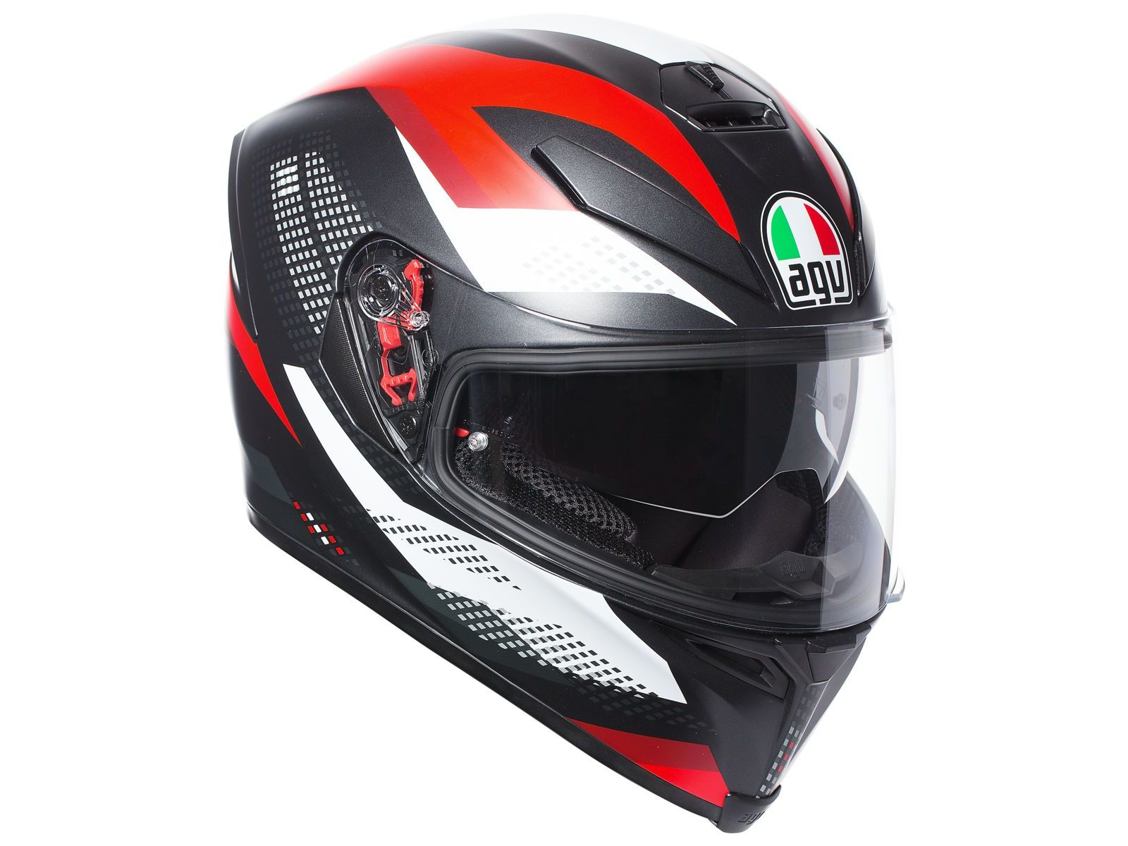 Мотошлем AGV K-5 S Multi Marble Red