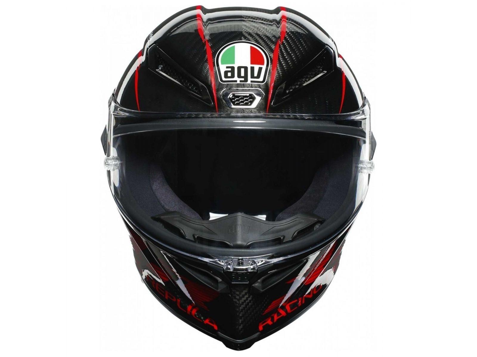 Мотошлем AGV PISTA GP RR Performance Carbon/Red