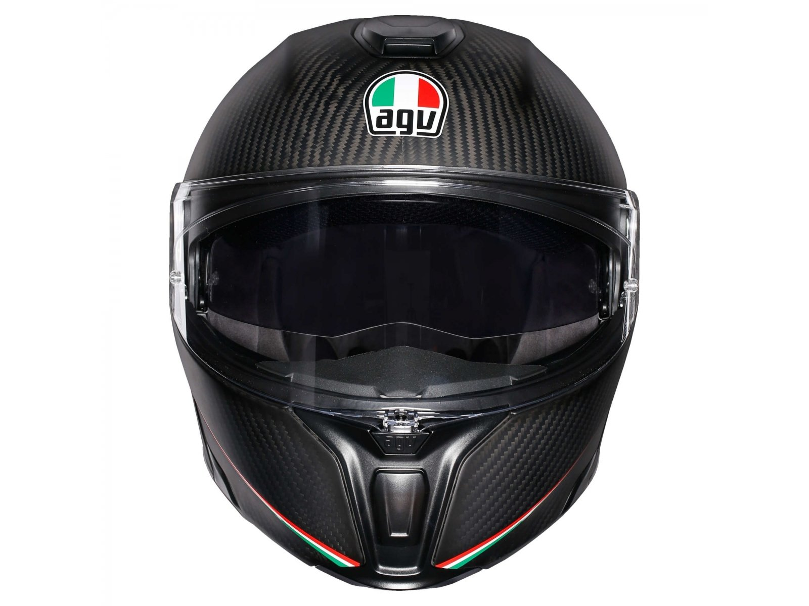 Мотошлем AGV Sportmodular Solid Carbon Dark Grey