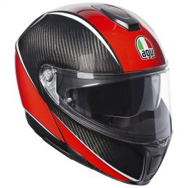 Мотошлем AGV Sportmodular Multi Aero Carbon Red