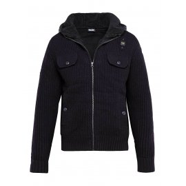 Куртка вязаная Blauer USA Черная
