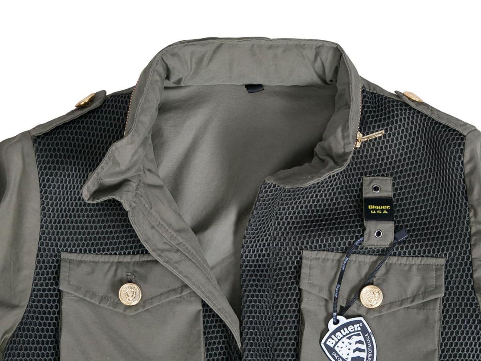 Куртка женская Blauer USA Зеленая