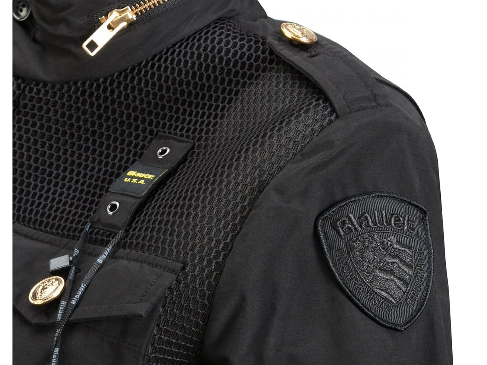 Куртка женская Blauer USA Черная