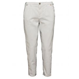 Брюки женские Blauer USA Cropped Denim Jeans Белые
