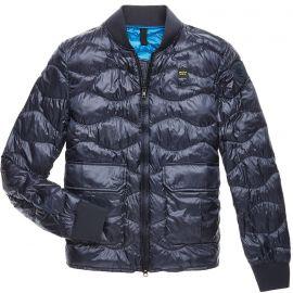 Куртка Blauer Мужская темно-синяя