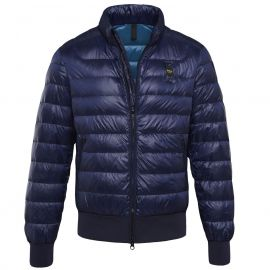 Пуховик BLAUER SUMMERLIGHT GLOSSY Down Jacket синий