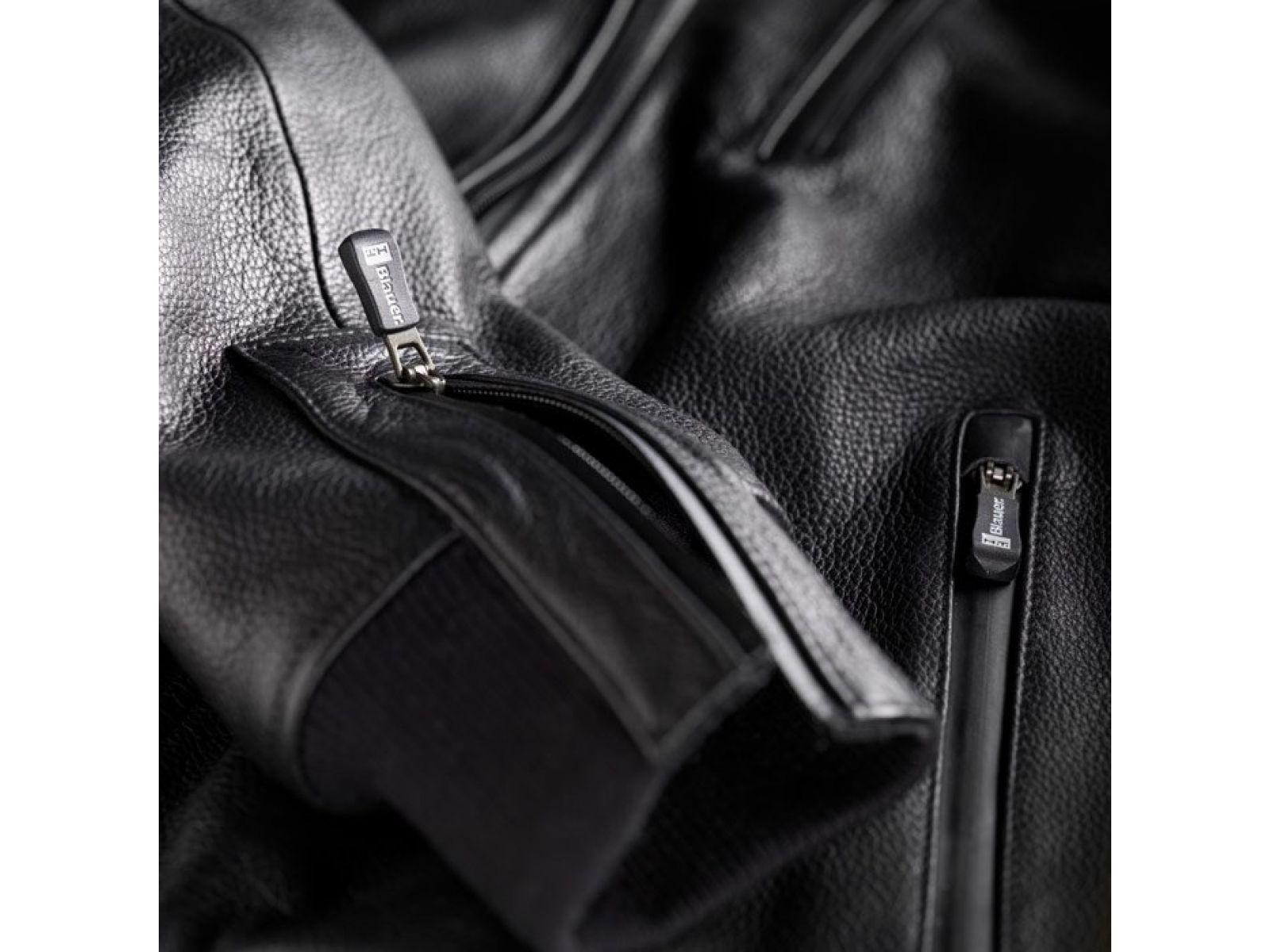 Мотокуртка Blauer H.T. Indirect Leather Black