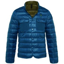 Пуховик Blauer SUMMERLIGHT DOWN синий