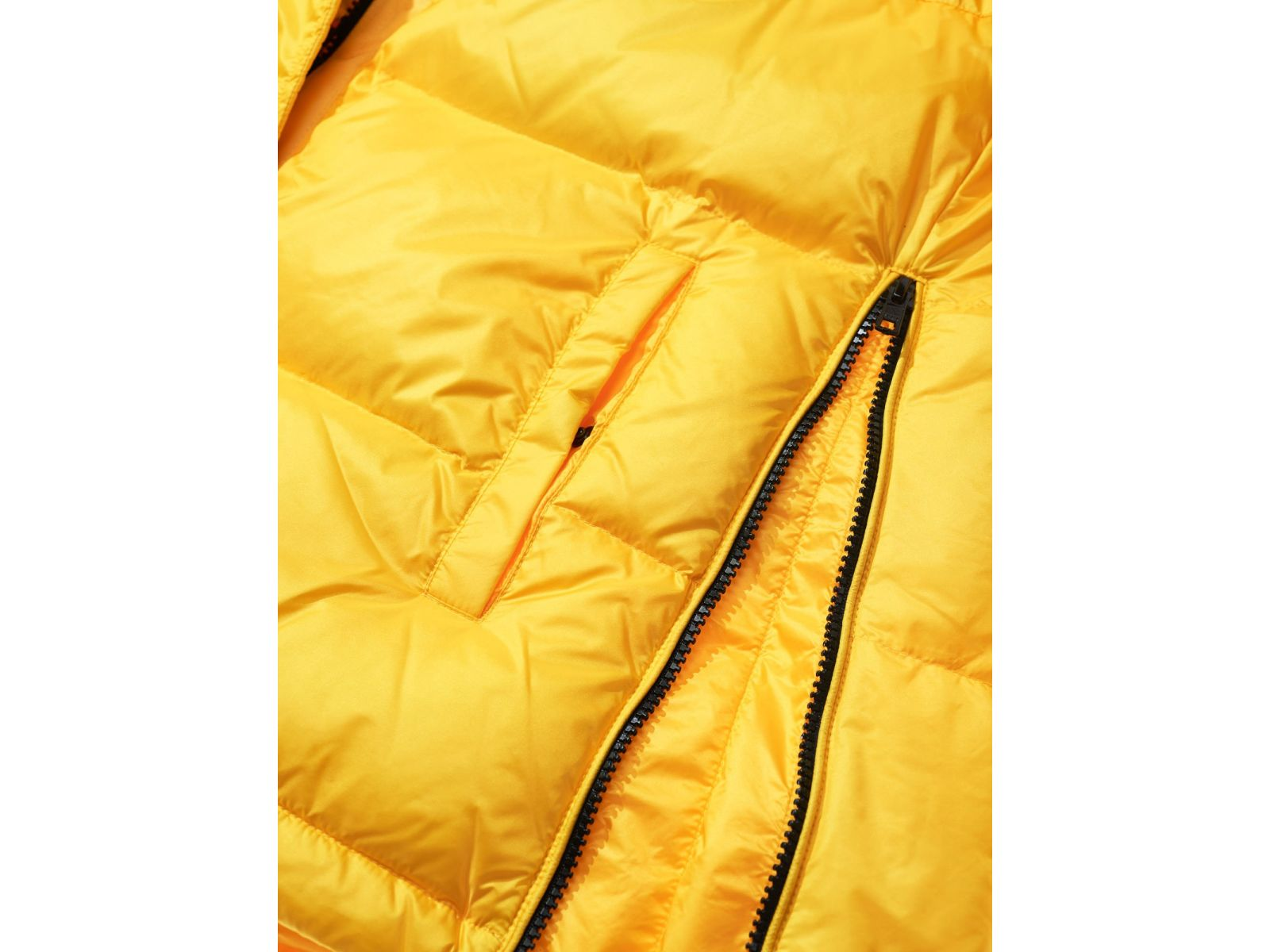 Пуховик женский Blauer ALICE желтый