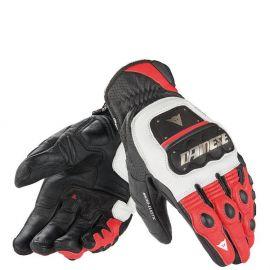 Перчатки Dainese 4 Stroke Evo White Black Red