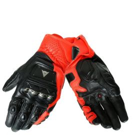 Мотоперчатки DAINESE 4 STROKE 2 Black Fluo Red
