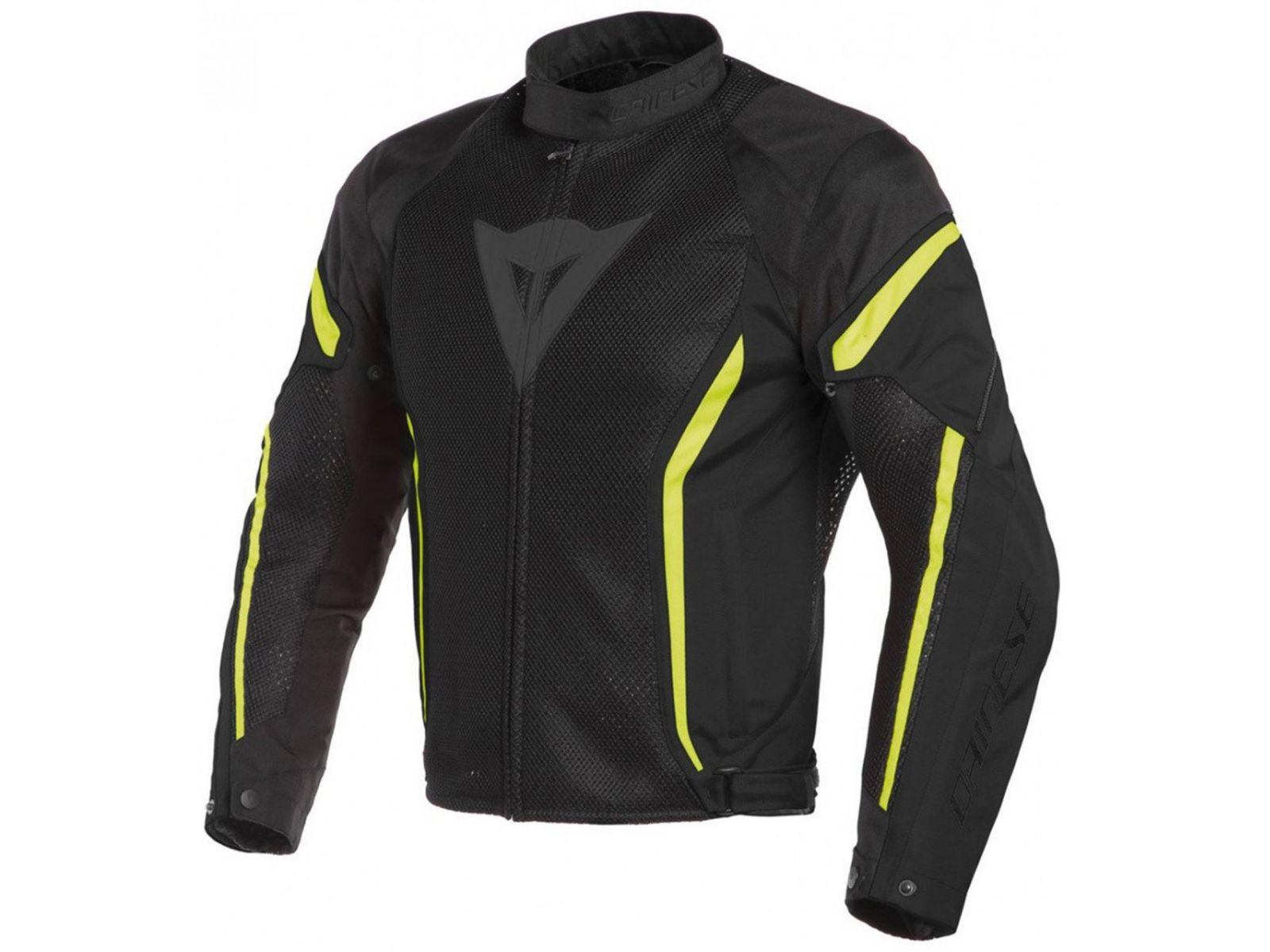 Мотокуртка Dainese Air Crono 2 Tex Black Fluo-Yellow