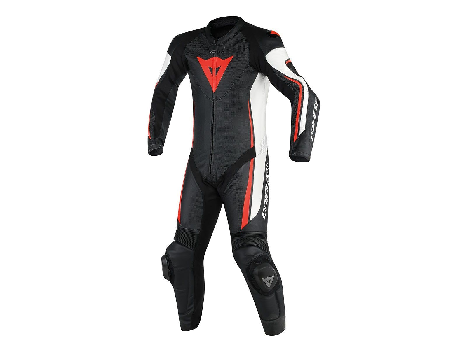 Мотокомбинезон Dainese Assen 1PC Perforated Black White Red