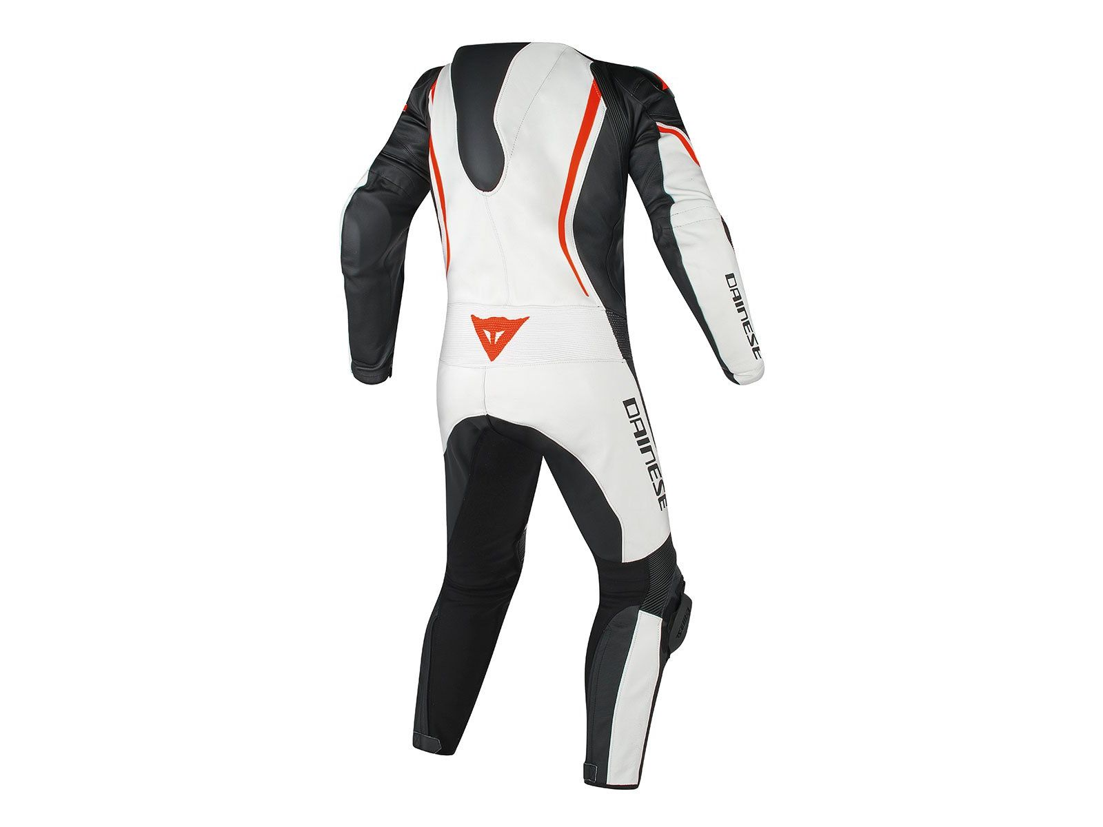 Мотокомбинезон Dainese Assen 1PC Perforated White Black Red