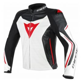 Мотокуртка Dainese Assen Perforated White Black Red