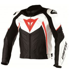 Мотокуртка Dainese Avro D1 White Black Red