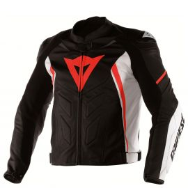 Мотокуртка Dainese Avro D1 Black White Red
