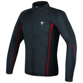 Термофутболка Dainese D-Core No-Wind Thermo Tee LS Black Red