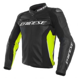 Мотокуртка Dainese Racing 3 Black Black Yellow