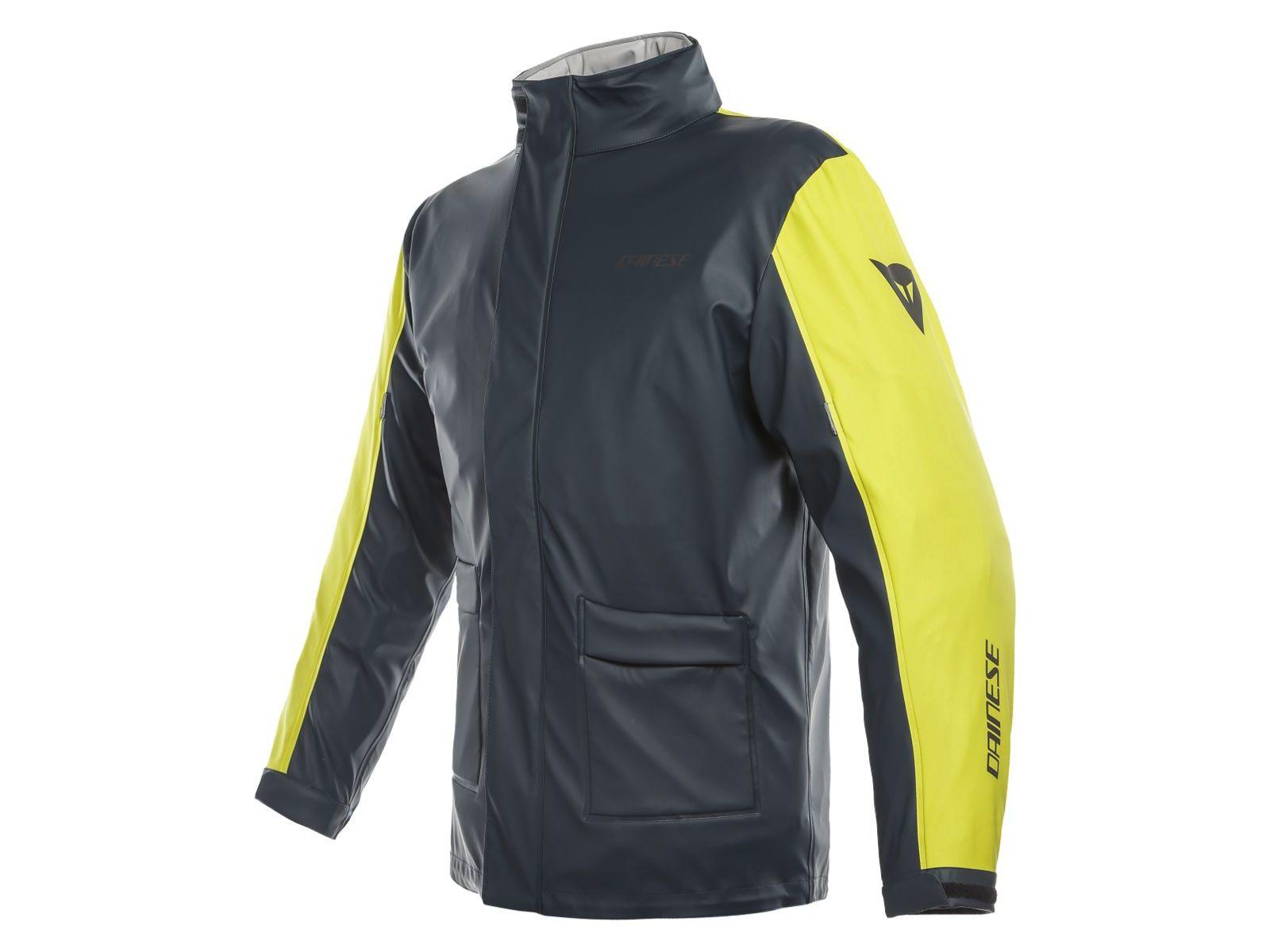 Куртка-дождевик Dainese Storm Black Yellow