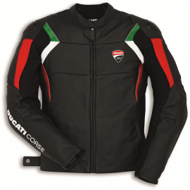 Мотокуртка Ducati Corse C3 Perforated Black Jacket