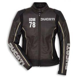 Мотокуртка женская Ducati IOM78 С1Black Brown Jacket