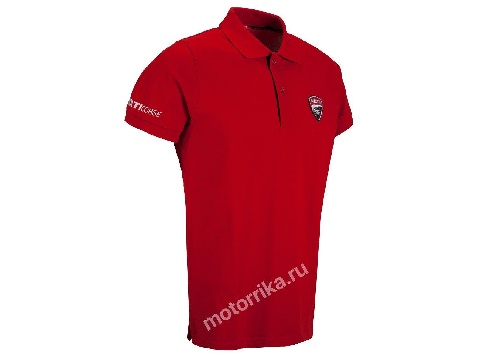 Футболка-поло Ducati Corse 12 Corporate Polo
