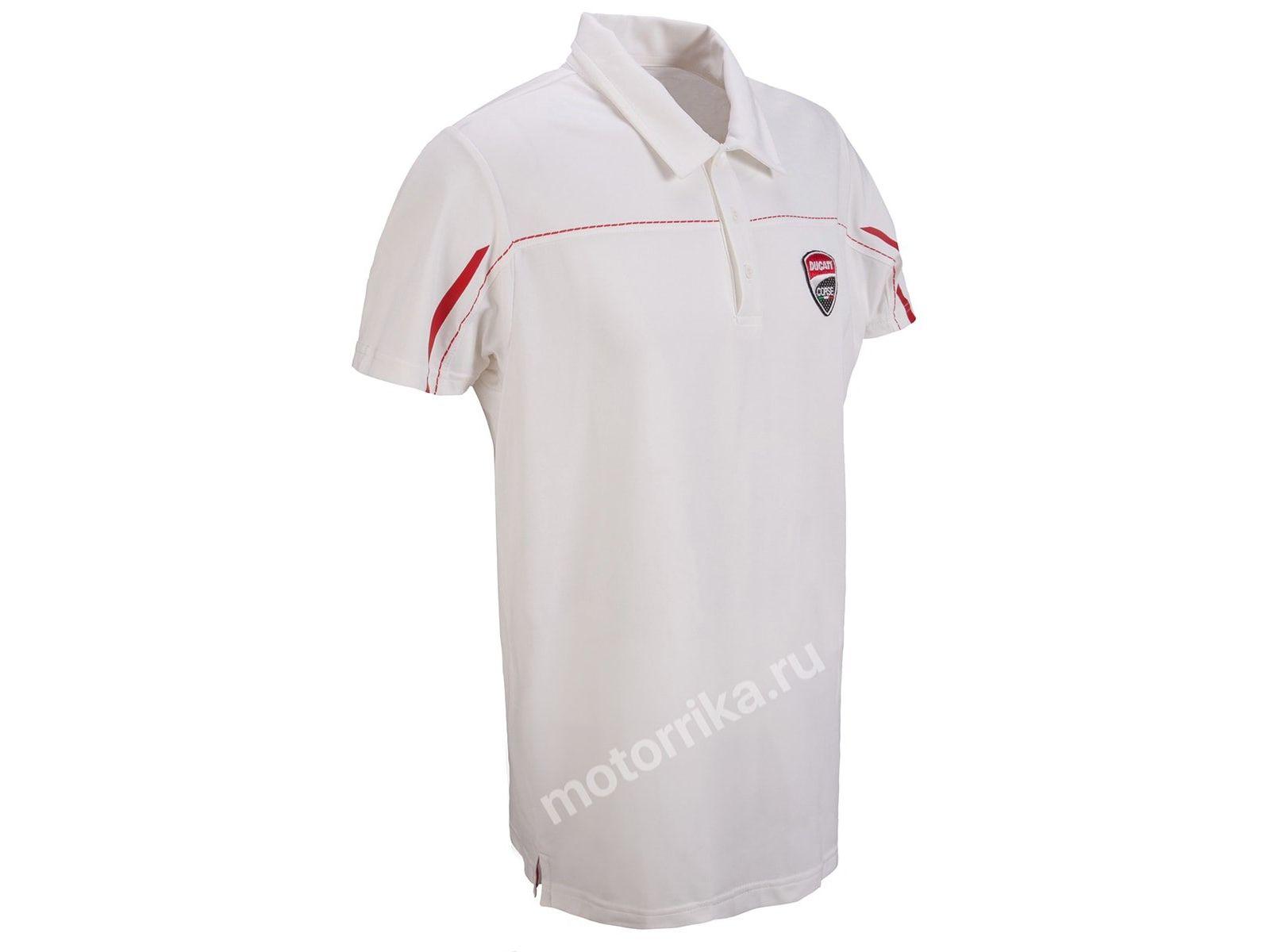 Футболка-поло Ducati Corse 14 White