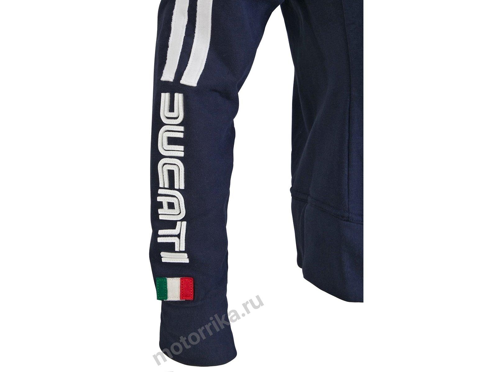 Толстовка женская Ducati 80s 14 Синяя