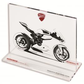 Эскиз мотоцикла Ducati 1299 Panigale