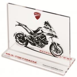 Эскиз мотоцикла Ducati Multistrada