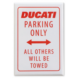 Магнит Ducati Parking Only