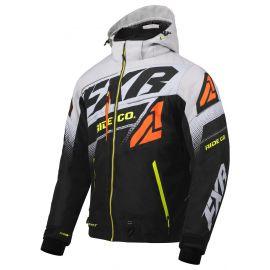 Снегоходная куртка FXR BOOST FX20 Black/Lt Grey/Orange/Hi Vis